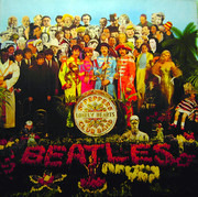 LP - The Beatles - Sgt. Pepper's Lonely Hearts Club Band - FRANCE