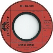 7'' - The Beatles - Skinny Minny / My Bonnie - picture sleeve