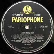 LP - The Beatles - Something New - Export Pressing