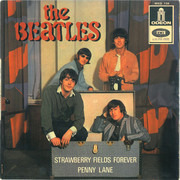 7inch Vinyl Single - The Beatles - Strawberry Fields Forever / Penny Lane