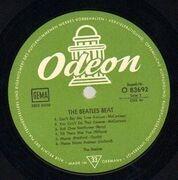 LP - The Beatles - The Beatles Beat - original german odeon