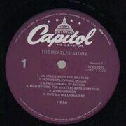 Double LP - The Beatles - The Beatles' Story - Purple Label