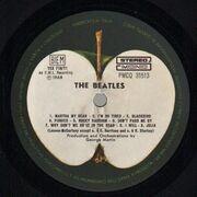 Double LP - The Beatles - White Album - Original Italian Numbered + Poster + 1 Sheet