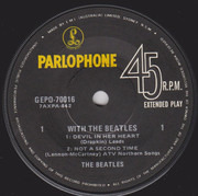 7inch Vinyl Single - The Beatles - With The Beatles