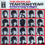 LP - The Beatles - Yeah! Yeah! Yeah! (A Hard Day's Night) - Originals From The United Artists Picture