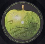 LP - The Beatles - Yellow Submarine - Original German, Label Misprint