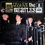 7inch Vinyl Single - The Beatles - Yellow Submarine