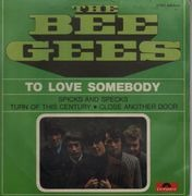 7inch Vinyl Single - The Bee Gees - To Love Somebody EP - Rare French EP