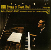CD - The Bill Evans Trio - At Town Hall ....... Volume One