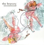 7inch Vinyl Single - The Bravery - Unconditional - white vinyl