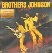 LP - The Brothers Johnson - Right On Time - 180GR./8P BOOKLET/40TH ANN./1000 CPS ON COLOURED