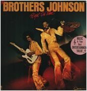 LP - The Brothers Johnson - Right On Time - booklet with lyrics and pictures