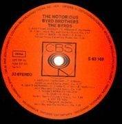 LP - The Byrds - The Notorious Byrd Brothers