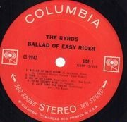 LP - The Byrds - Ballad Of Easy Rider - US IMPORT FOR GERMAN MARKET