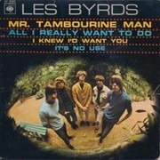 7inch Vinyl Single - The Byrds - Mr. Tambourine Man - EP