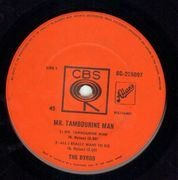 7inch Vinyl Single - The Byrds - Mr. Tambourine Man - Original Australian EP