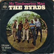 7inch Vinyl Single - The Byrds - Mr. Tambourine Man