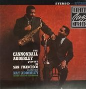 LP - The Cannonball Adderley Quintet - in San Francisco