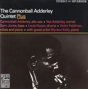 CD - The Cannonball Adderley Quintet - Plus