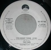 7inch Vinyl Single - The Cars - You Might Think