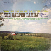 LP - The Carter Family - 'Mid The Green Fields Of Virginia - Mono