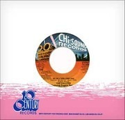 7inch Vinyl Single - The Chi-Lites - Hot On A Thing (Called Love)