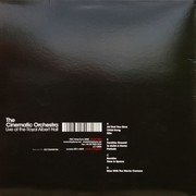 Double LP - The Cinematic Orchestra - Live At The Royal Albert Hall 02.11.2007 - 180 Gram