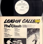 Double LP - The Clash - London Calling - Original Dutch