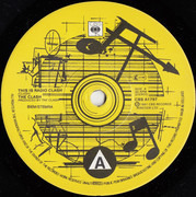 7inch Vinyl Single - The Clash - This Is Radio Clash