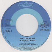 7inch Vinyl Single - The Cool Notes - Momentary Vision
