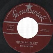 7inch Vinyl Single - The Crickets - That'll Be The Day - Original US, Company Sleeve