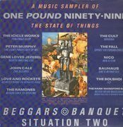 LP - The Cult, Bauhaus, The Ramones, Nico a.o. - One Pound Ninety-Nine - A Music Sampler Of The State Of Things