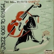 LP - The Dave Brubeck Quartet - Jazz Goes To College - GERMAN ORIGINAL