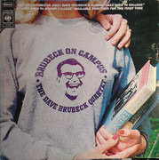 Double LP - The Dave Brubeck Quartet - Brubeck On Campus - Italy