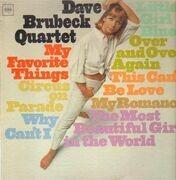 LP - The Dave Brubeck Quartet - My Favorite Things