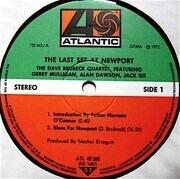 LP - The Dave Brubeck Quartet - The Last Set At Newport
