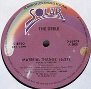12'' - The Deele - Material Thangz
