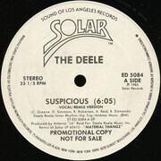 12inch Vinyl Single - The Deele - Suspicious