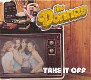 CD Single - The Donnas - Take It Off