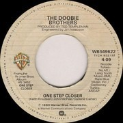 7inch Vinyl Single - The Doobie Brothers - One Step Closer