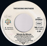 7inch Vinyl Single - The Doobie Brothers - Minute By Minute