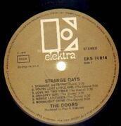 LP - The Doors - Strange Days - GOLD LABELS