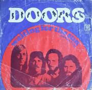 7inch Vinyl Single - The Doors - Waiting For The Sun / Peace Frog