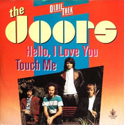 7inch Vinyl Single - The Doors - Hello I Love You, Won't You Tell Me Your Name? / Touch Me