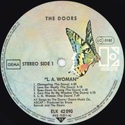LP - The Doors - L.A. Woman