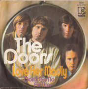 7inch Vinyl Single - The Doors - Love Her Madly
