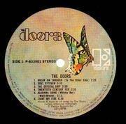 LP - The Doors - The Doors - + insert no obi