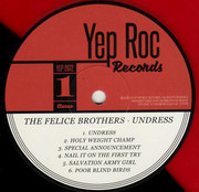 LP & MP3 - The Felice Brothers - Undress - Red/Black Vinyl
