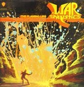 Double LP - The Flaming Lips - At War With The Mystics - coloured vinyl orange blue