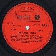 LP - The Flying Karpets - Flying Karpet - Pokora 1001. Original 1st Mexican